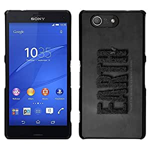 "For Sony Xperia Z3 Plus / Z3+ / Sony E6553 (Not Z3) , S-type TIERRA Guardar Naturaleza"" - Arte & diseño plástico duro Fundas Cover Cubre Hard Case Cover"