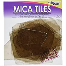 Mica Tile Large Pieces 2-Ounce, Apprx 6-Inch-by-8-Inch
