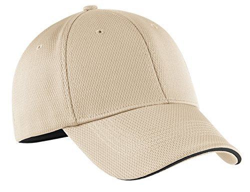 (Nike Golf 333115 Adult's Dri-FIT Swoosh Flex Sandwich Cap Birch Large/X-Large)