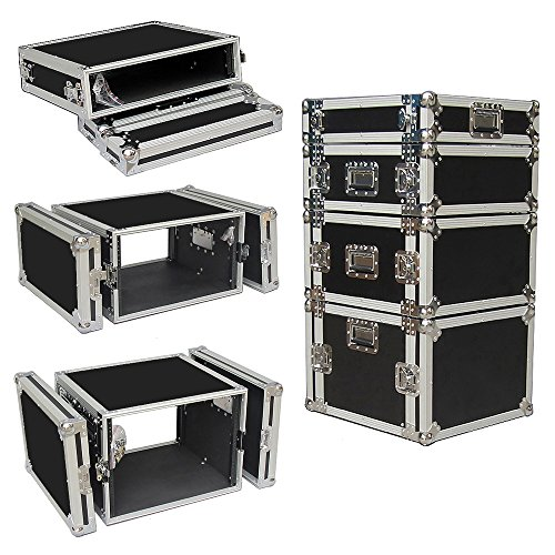 8 Space 8u 18 Inches Deep Heavy Duty 3/8 Ply ATA Amp Rack Case - Sale Price