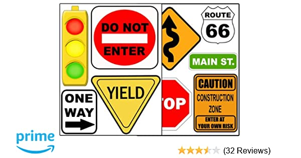 Do Not Enter Sign Fabric Wall Decal Traffic and Street Signs 3 Sizes Availab