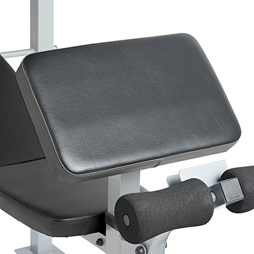 Gold Coast Adjustable Multi Weight Bench With Barbell Rack