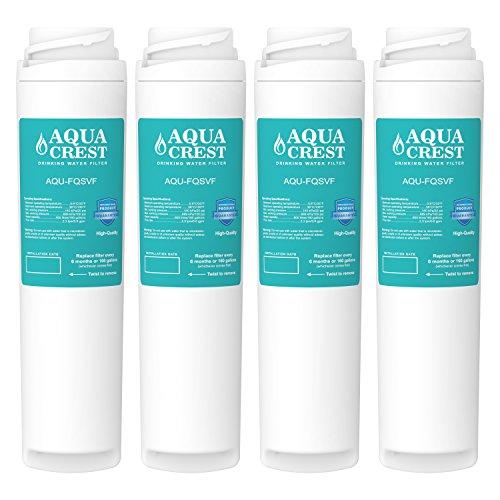 - AQUACREST Under Sink Water Filter, Compatible with GE FQSVF, GXSV65R (2 Set)