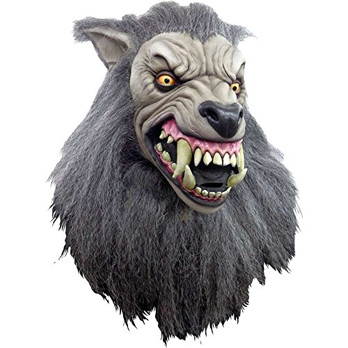 Trick or Treat Studios Men's An American Werewolf In London-The Werewolf Mask, Multi, One (Werewolf In London Costume)