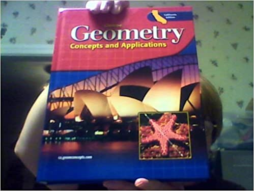 Amazon geometry concepts and applications california edition geometry concepts and applications california edition student edition fandeluxe Image collections