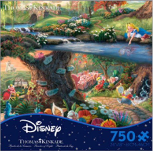 Disney Puzzle -- Alice in Wonderland -- Ceaco - Disney Puzzles For Adults