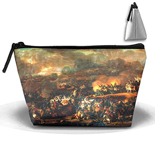 Cosmetic Bags Portable Travel Toiletry Pouch Artistic Battle Of Leipzig Makeup Organizer