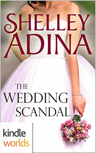 book cover of The Wedding Scandal