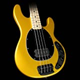 Ernie Ball Music Man Stingray 4 H Electric Bass Guitar Firemist Gold