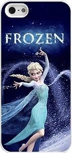 Disney Frozen iPhone 5 Case Cover - Disney Frozen iPhone 5s Hard Plastic Case Cover - White