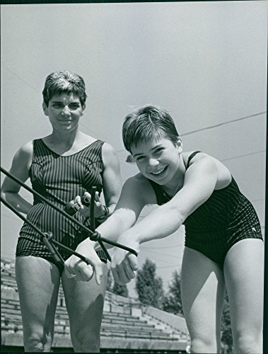 - Vintage photo of Olympic Gold Medal inheritable? Mama and also coach Eva Szekely and Andrea Giarmati.