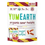 YumEarth Organic Sour Twists Watermelon Lemonade 10 Snack Packs 0 7 oz 19 8 g Each