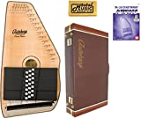 Oscar Schmidt 21 Chord Autoharp, Flame Maple Top, Natural Finish, OS11021FN