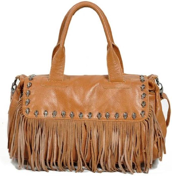 Neu Damen Braun 100% Echtes Leder Luxus Shopper Mode