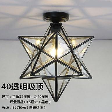 ZHUDJ Full Copper Led Ceiling Light