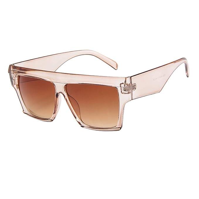 FRAUIT Gafas de Sol de Aviador de Gran Tamaño para Mujeres ...