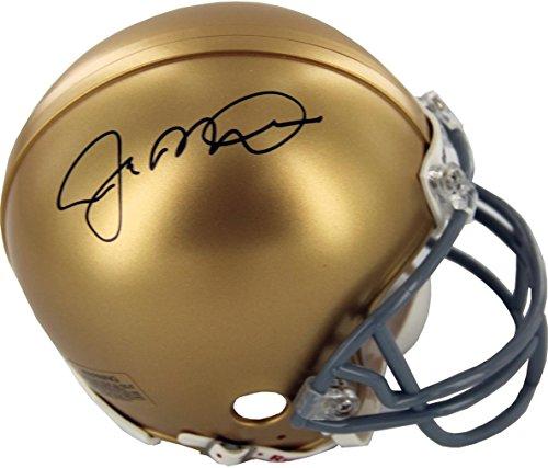 Steiner Sports NCAA Notre Dame Fighting Irish Joe Montana Signed Mini Helmet by Steiner Sports