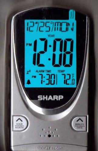 Sharp Digital Travel Alarm Clock