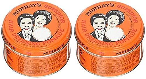 Superior Hair Dressing Pomade (2 Pack) (Murrays Pomade)