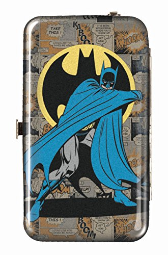 Spoontiques Wallet Case for iPhone 4; iPhone 5; iPhone 5S, iPhone 6; Samsung Galaxy S5 - Batman Phone Wristlet