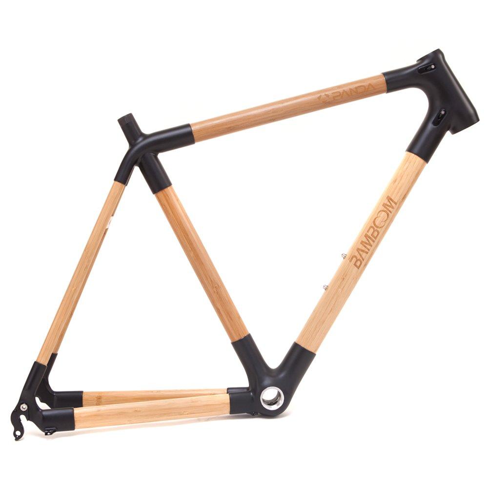 Marco bambú pequeña bicicleta