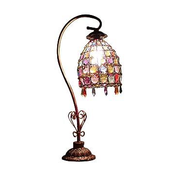 Lámparas de mesa y mesilla de noche Cristal De Hierro ...