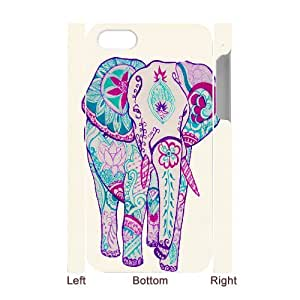 Elephant Customized 3D Phone Case for Iphone 4,4S at DLLPhoneCase ( DLL465509 )