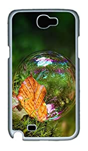 Nice Bubble Polycarbonate Hard Case Cover for Samsung Galaxy Note II N7100¨C White