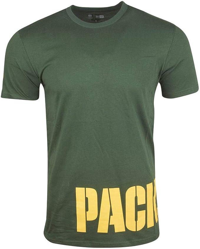 New Era NFL Shirt WRAP Green Bay Packers grün