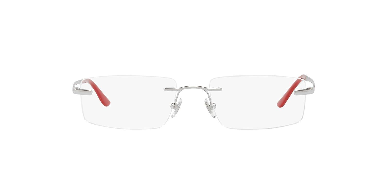 557127df02d88 Ray-Ban Rimless Rectangular Men s Spectacle Frame (0RX6266I250151