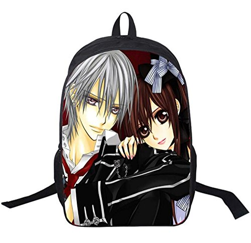 (Siawasey Anime Vampire Knight Cosplay Backpack Daypack Bookbag Shoulder Bag Laptop School)