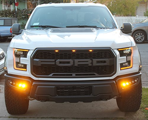 2017 2018 Ford Raptor M Amp R Led Fog Light Kit 200w Buy
