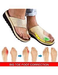AHBZ Sandalias correctoras Mujer Transpirable Zapatos cómodos Chanclas Respirable Equilibrar Zapatos para el Verano Antideslizante Sandalias