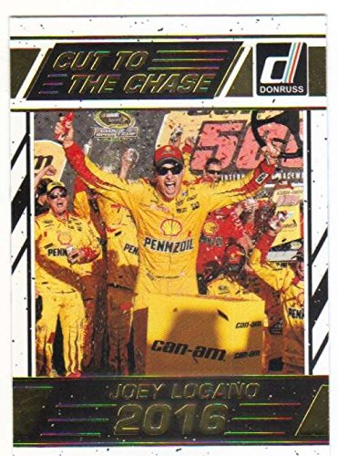 2017 Donruss Racing Cut to The Chase Insert #9 Joey Logano