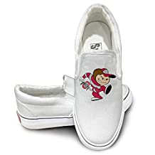 TAYC Ohio State University Leisure Flats-Shoes White
