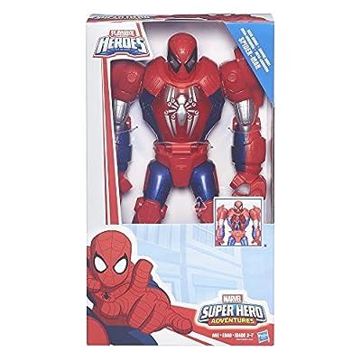Playskool Heroes Marvel Super Hero Adventures Mech Armor Spider-Man: Toys & Games