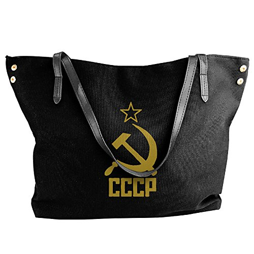 CCCP Hammer And Sickle Russia Handbag Shoulder Bag For Women