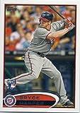 2012 Topps Bryce Harper Rookie Card #661 Factory Set Limited Edition Variation Card - Washington Nationals Sensation - Encased MLB Rookie Card in a Screwdown Holder
