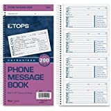 TOP4002 - Tops Spiralbound Message Book
