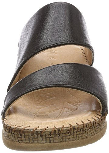 Salamander Flora, Women's Heels Sandals Multicolour (Black 41)