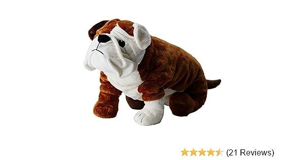 Amazon Com Ikea Bulldog Stuffed Animal Soft Toy Toys Games