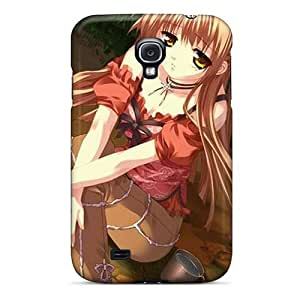 Top Quality Rugged Cute Anime Girl Case Cover For Galaxy S4