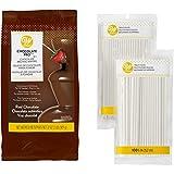 Wilton Chocolate Pro Fountain and Fondue Chocolate with Lollipop Sticks Set, 2-Piece - Chocolate Fondue Set