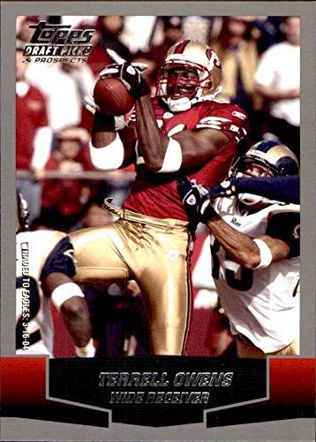 2004 Topps Draft Picks - Terrell Owens San Francisco 49ers HOF 2018 Hall of Fame 2004 Topps Draft Picks & Prospects #21 NFL Football Card