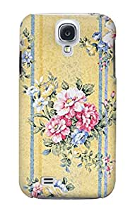 R2229 Vintage Flowers Case Cover For Samsung Galaxy S4 mini