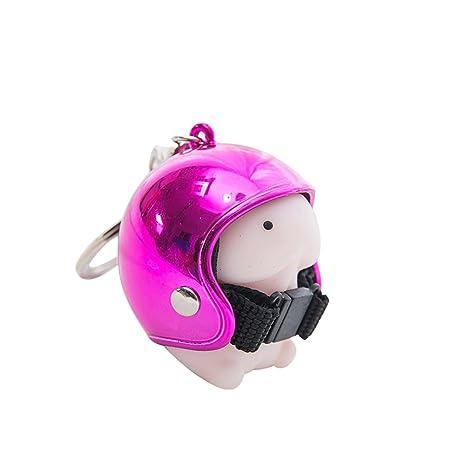 Amazon.com: Llavero de Aland con diseño de casco de pene con ...