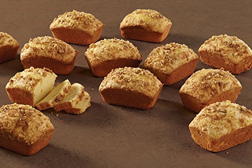 Kitchen Perfect 18 Cup Heavy Steel Bread Bake Oven Mini Loaf Pan with Scraper Combo by FNG Homestead