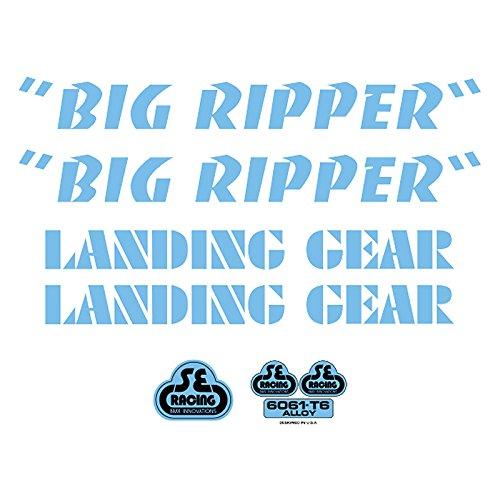 SE Bikes Big Ripper Decal Set null BLUE
