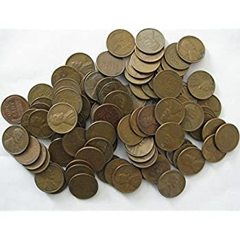 Wheat penny rolls All pre-1940 US coins circulated 2 rolls, 100 cents total