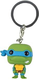 Pocket Pop! Teenage Mutant Ninja Turtles Leonardo Vinyl Figure Key Chain